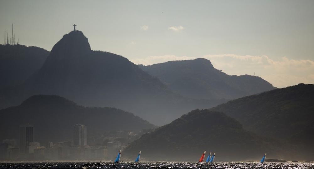 Rio de Janeiro competición de vela olímpica test event