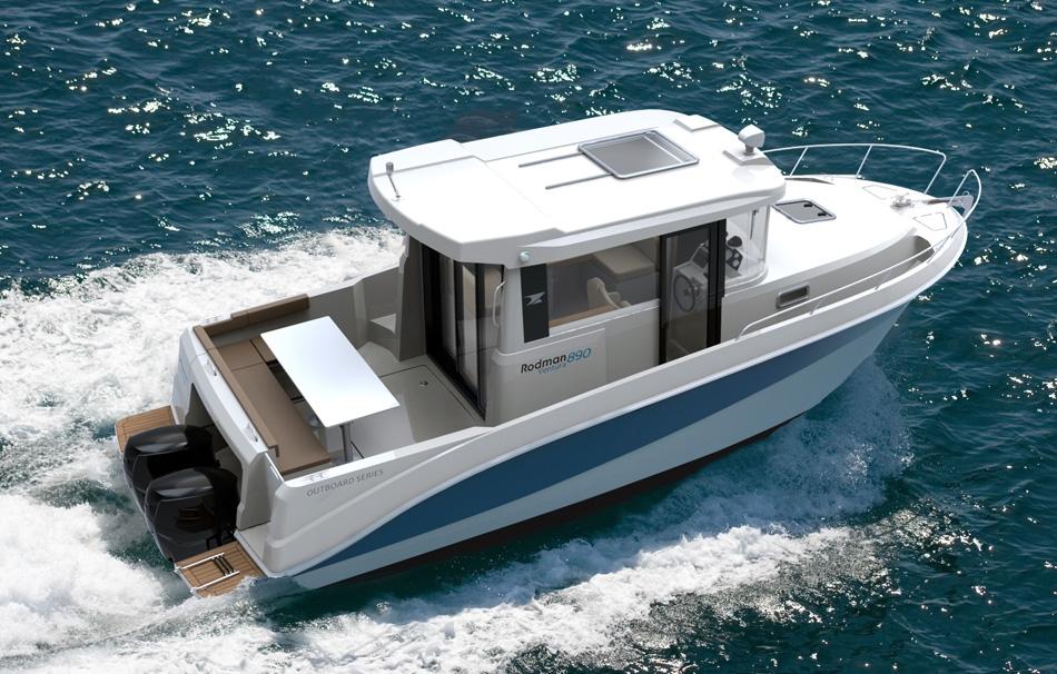 1_Rodman 890 Ventura - nuevos barcos a motor Salón Náutico Londres 2016
