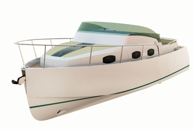 barco a motor English Harbour 27