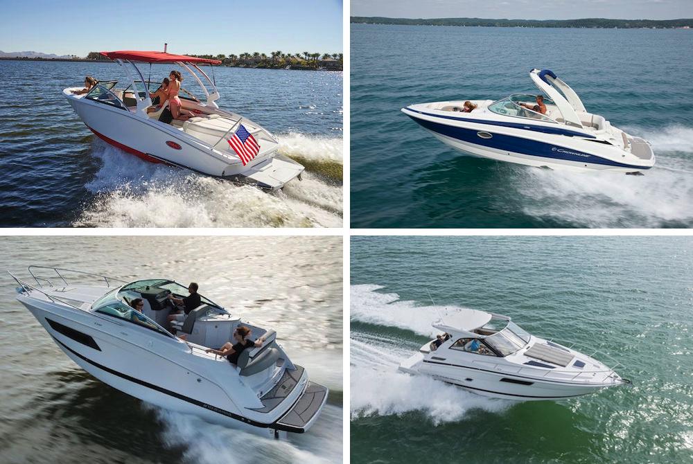 4 barcos a motor para la nueva temporada