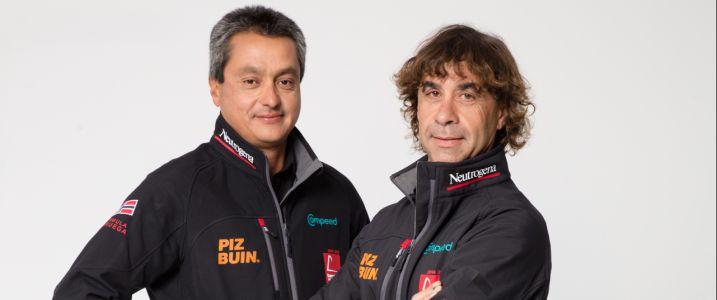 regatistas José Muñoz y Guillermo Altadill