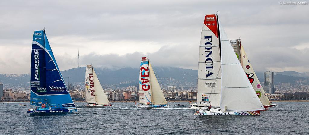 Barcelona World Race Salida