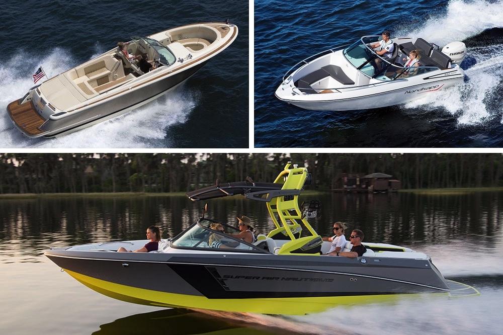 Barcos a motor bowriders