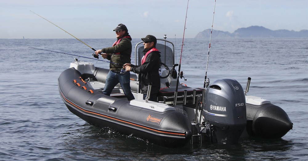 Barcos a motor semirrígida de pesca Narwhal-620-fisher