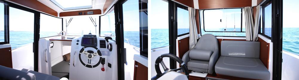 Beneteau Barracuda 7 puesto de mando comp