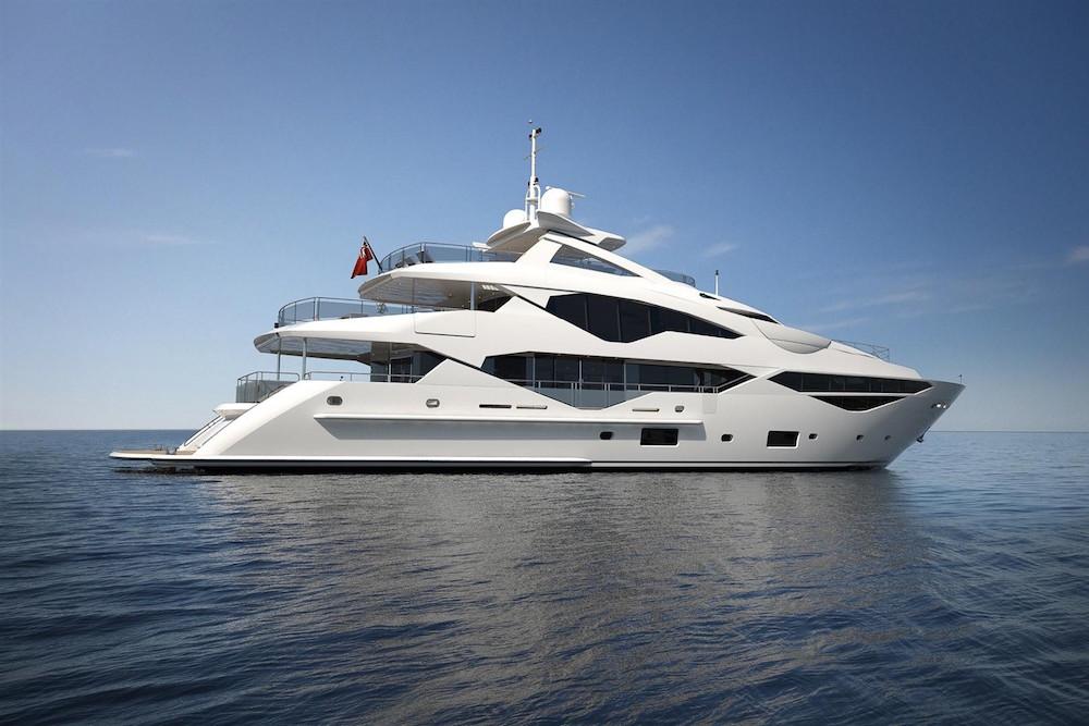 Brexit boats Sunseeker 131 Yacht