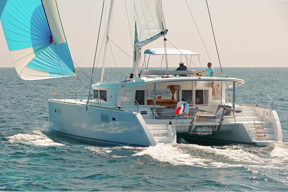 Catamaran Lagoon Nicolas Claris