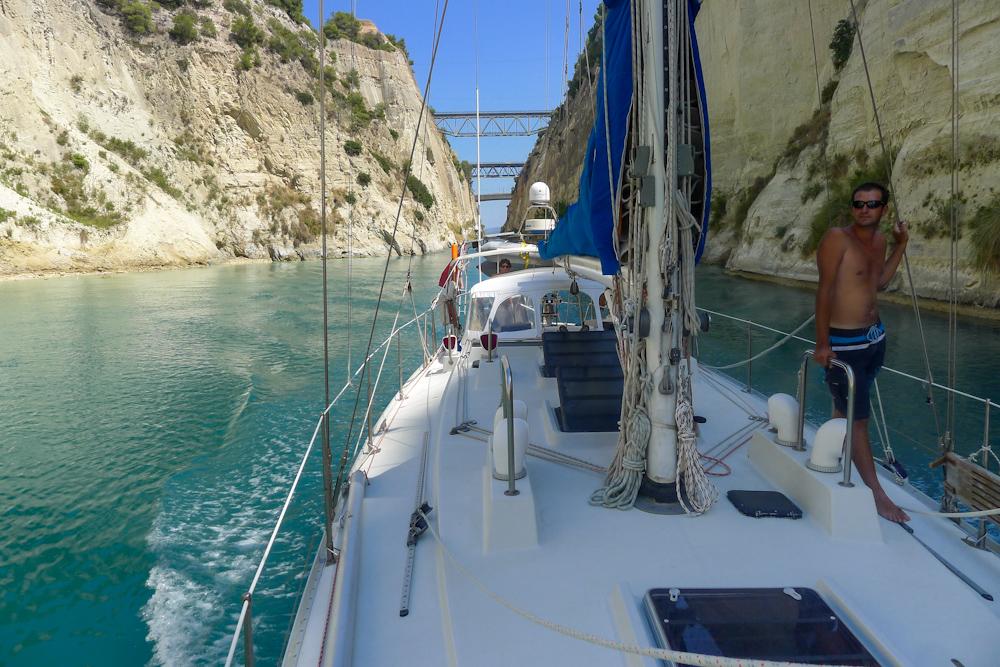 Chárter Canal de Corinto Grecia