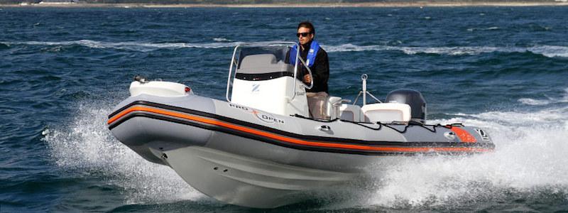 Comprar barco a motor Semirrigida RIB