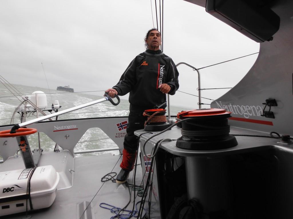Guillermo Altadill entrenando