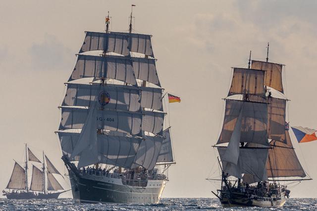 Barcos a vela clásicos
