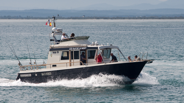 Targa 35 trawler