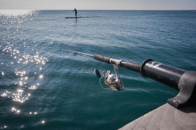 pesca deportiva SUP