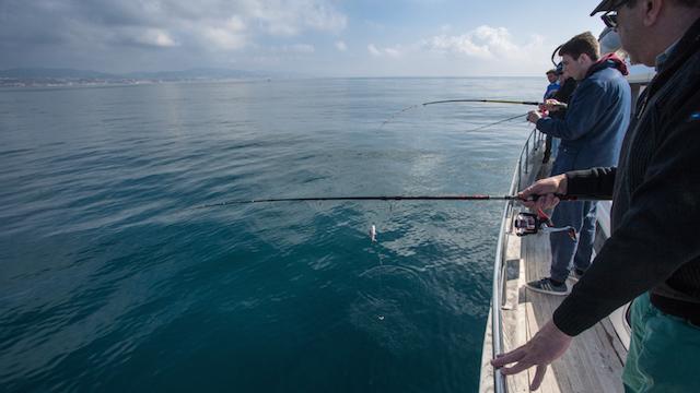 Pescar a la deriva
