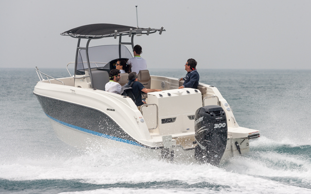 Quicksilver Activ 805 Pro Fish motor popa