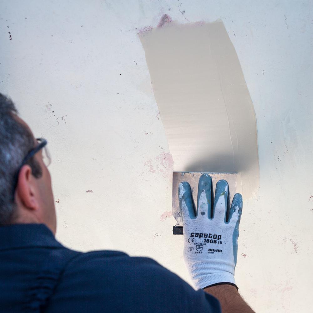 Pintar el barco - reparar casco
