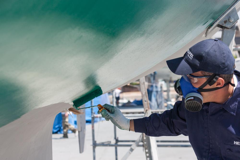 Cómo pintar un barco