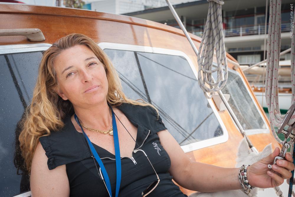 Monica Xufre experta en barcos de madera