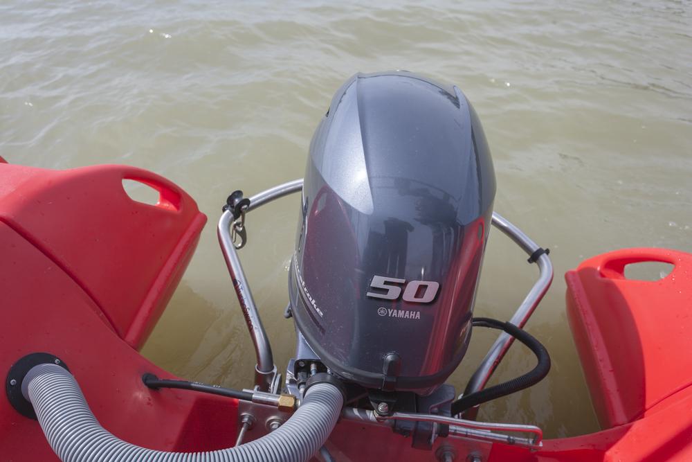 Prueba Whaly 500 motor Yamaha F50