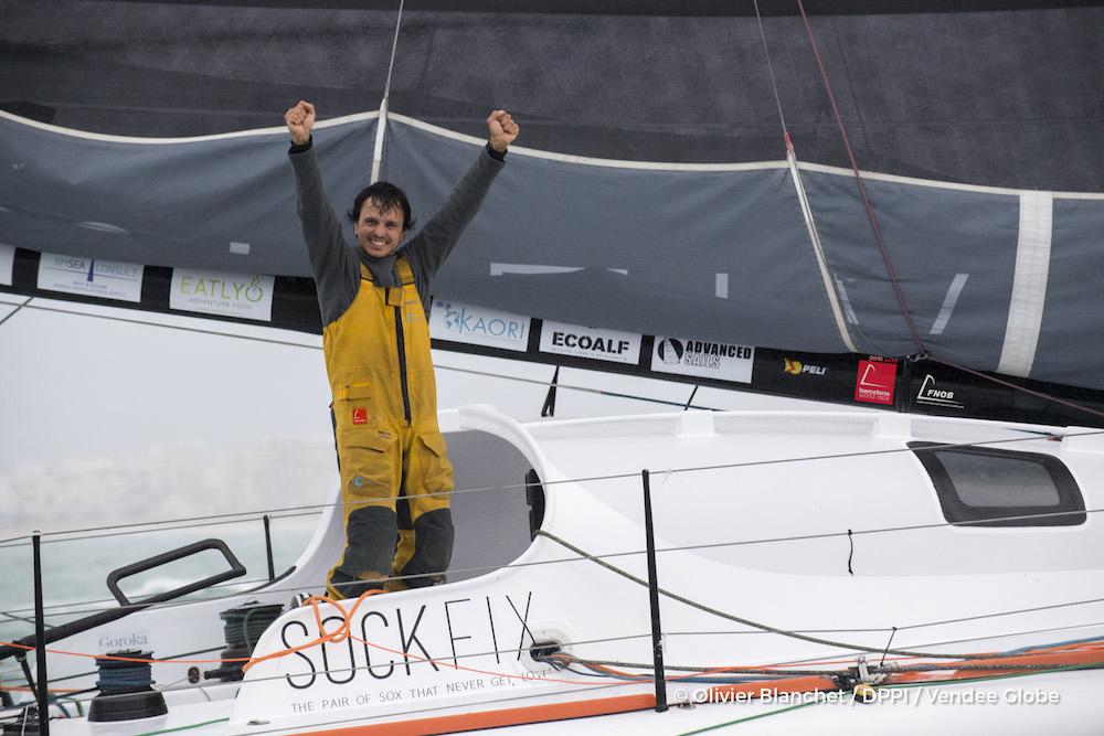 Didac Costa VENDEE GLOBE 2017