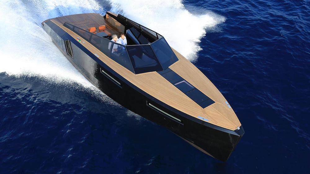 EVO yachts 43 navegando