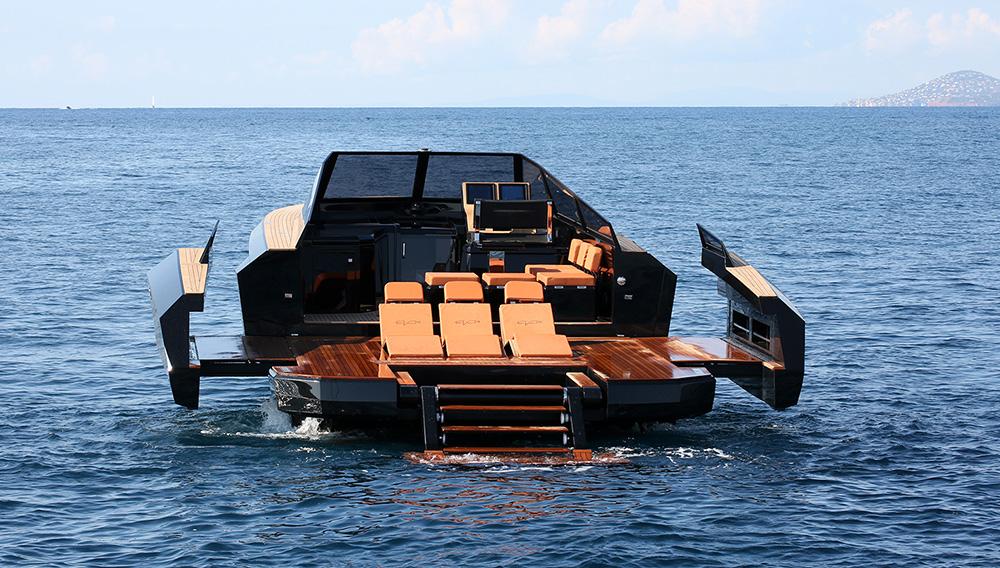 Evo yachts 43 playa popa