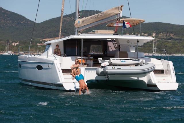 Fountaine Pajot Hélia 44 - a bordo