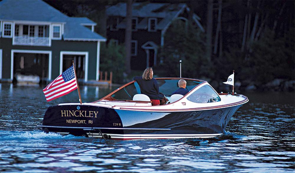 barco a motor Hinckley Talaria 29R
