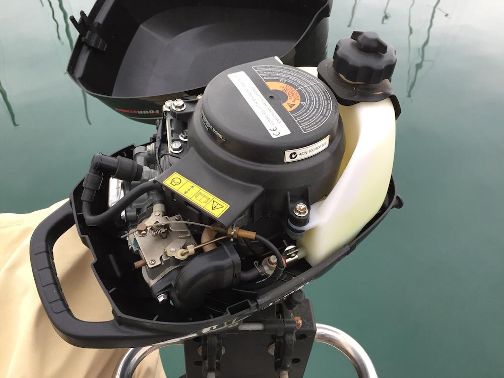 Invernar motor fueraborda - gasolina