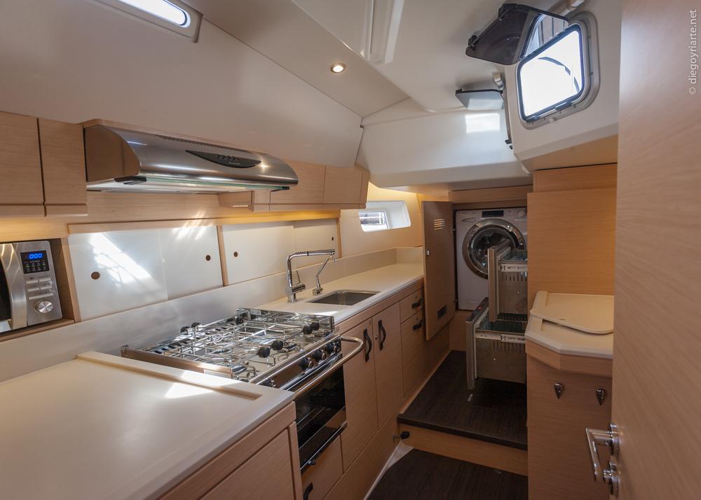 Jeanneau 54 cocina