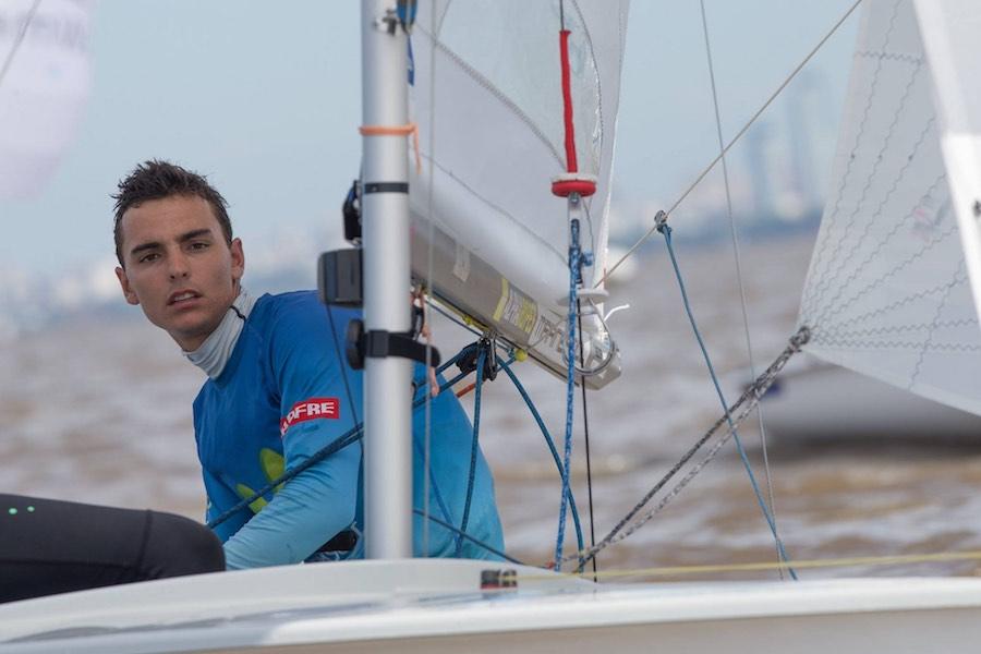 Jordi Xammar en el Mundial de 470 en San Isidro, Argentina.