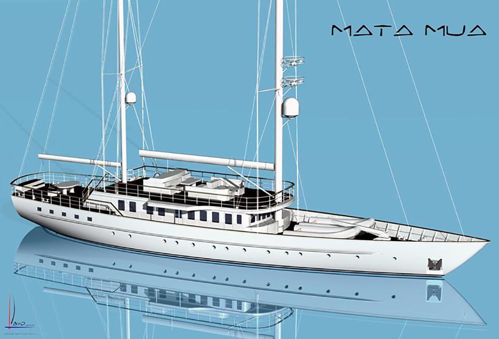 Matamua: La reforma del barco de la Baronesa Thyssen fue el punto de partida del estudio.
