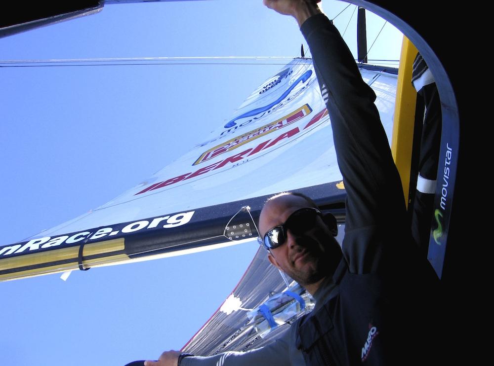 Movistar Xabi Fernandez  Volvo Ocean Race 2005 2006