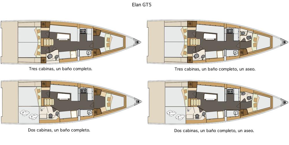 Prueba Elan GT5 - disposicion