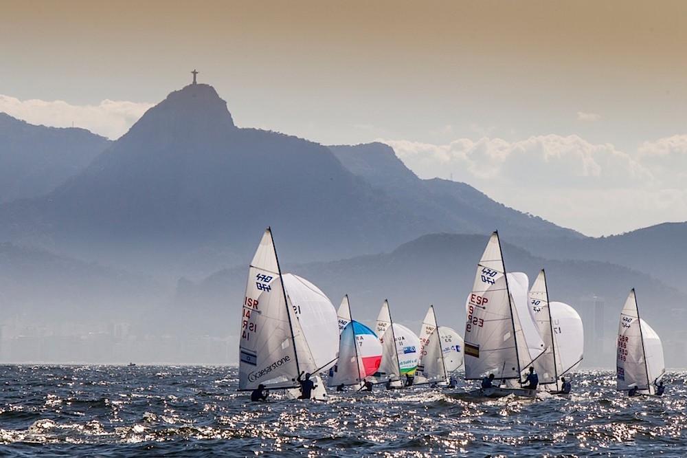 Vela Olímpica: Regata clase 470 Rio de Janeiro Jesus Renedo Sailing Energy