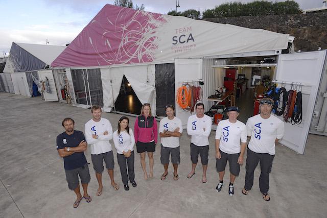 Equipo tierra Team SCA