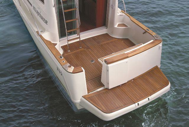 popa de barco a motor Starfisher 840
