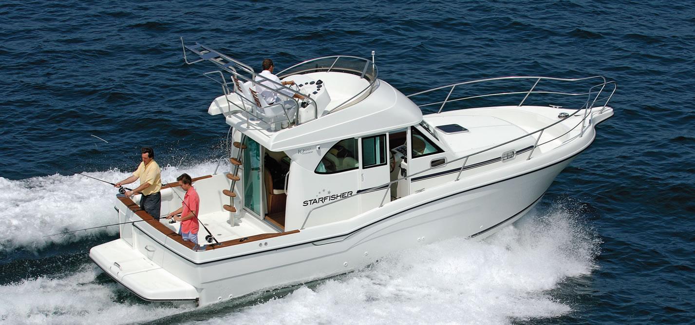 Barco de pesca de altura Starfisher ST1060 popa
