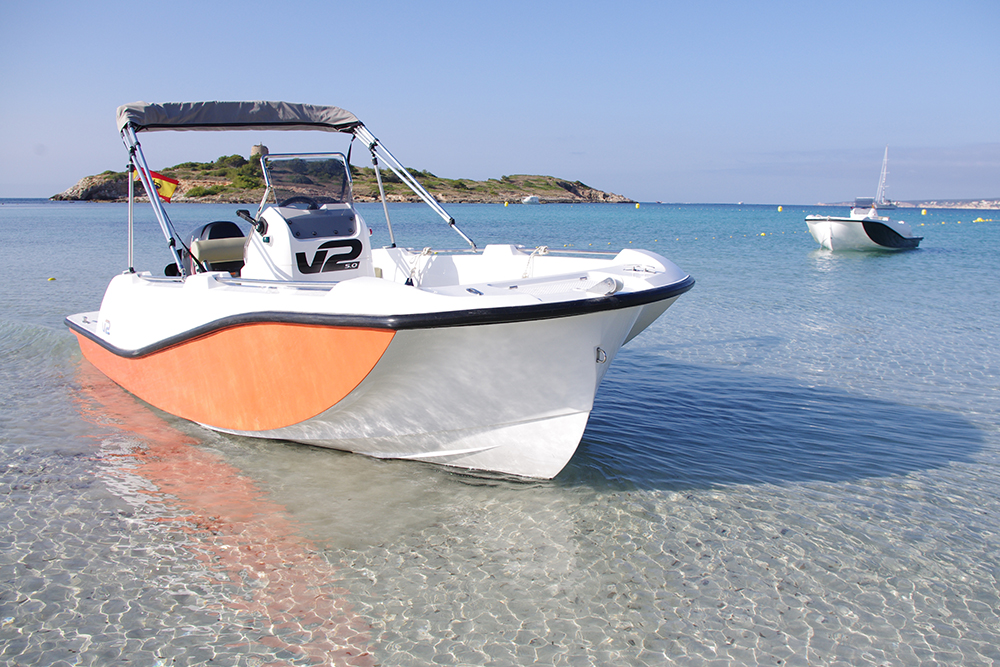 barco a motor V2 5.0