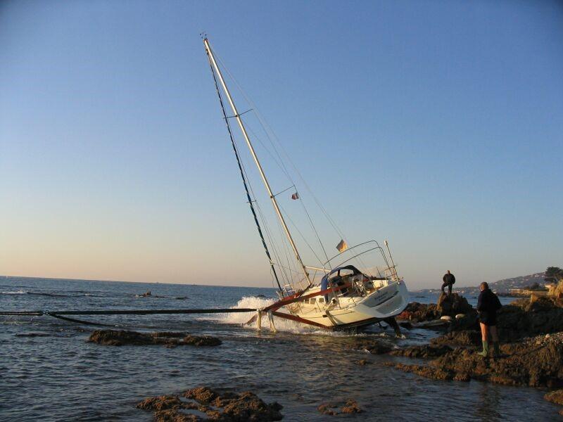 Seguro de barco - Varada