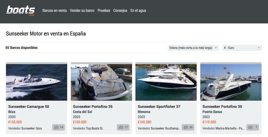 Vender el barco - anuncio online