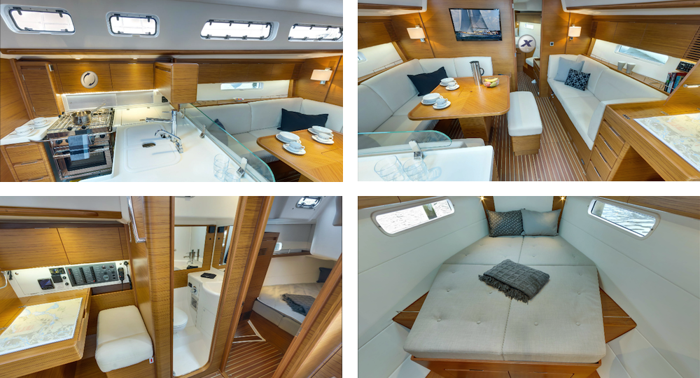 Vender el barco - interior ordenado