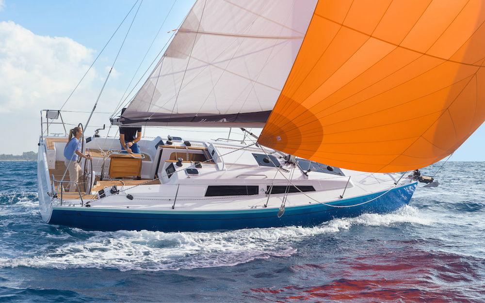 barcos a vela 10 metros 30 pies Hanse 315