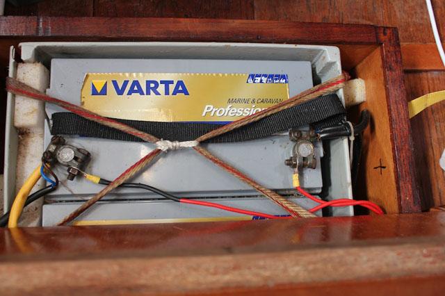 batería barco
