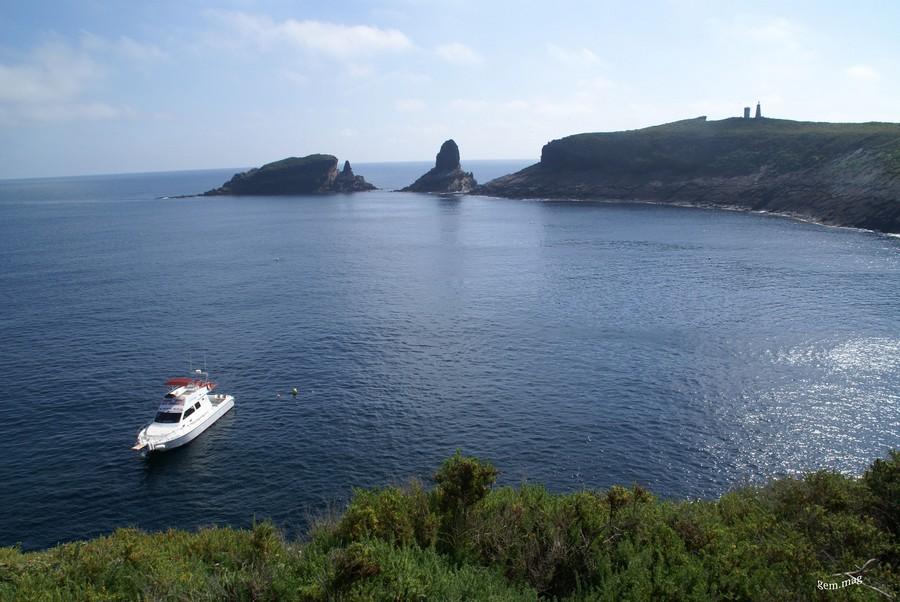 Alquilar barco charter Islas Columbretes