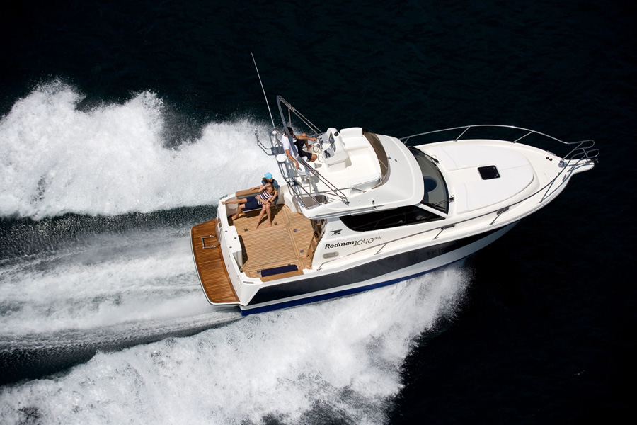 barco de pesca Rodman 1040 Fisher & Cruiser