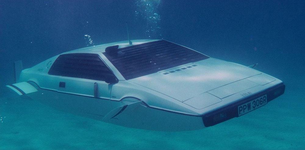 Coche submarino de Lotus en El Espía Que Me Amó