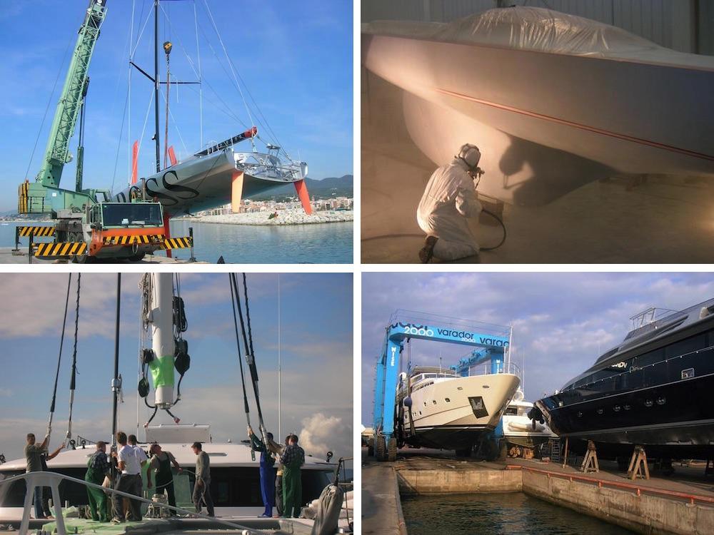 sector nautico refit mantenimiento Varador 2000