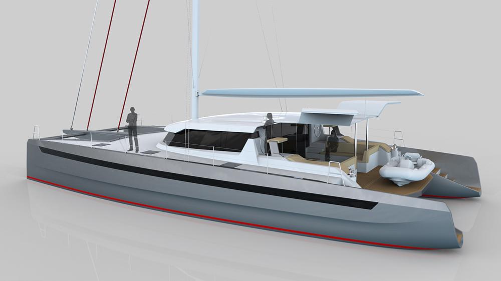 BYD Yachts ya había colaborado en el diseño de interiores para el astillero suizo.