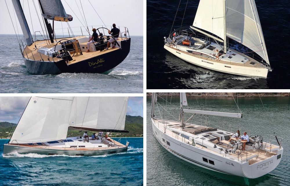 veleros 58 pies Solaris 58, Jeanneau 58, Swan 60 FD y Hanse 588